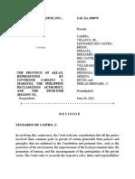 Boracay Foundation vs. Aklan