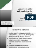 La Nouvelle Ville Metropolitaine de Turin