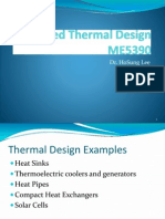 Thermal Design Example for ME5390