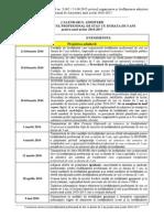 Calendarul Admiterii 2016_invatamant Profesional