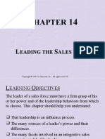 Chapter 14 Leading the Sales Team.ppt