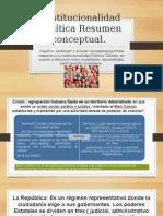 Institucionalidad Política Resumen Conceptual