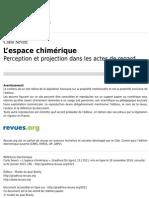 Carlo Severi - L'Espace Chimérique Perception Et Projection Dans Les Actes de Regard_cropped