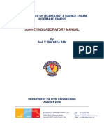 Surveying Manual BPHC_First Cycle
