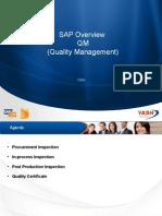 SAP Overview QM