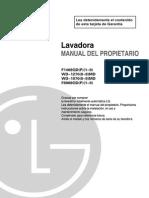 Manual Uso LAVADORA LG
