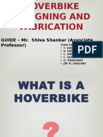 Hoverbike Designing and Fabrication