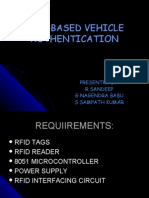Rfid Based Vehicle Authentication