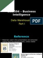 Session 5 Data Warehousing Part I