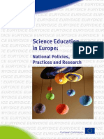 Science Education in Europe - National Policies