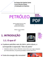 Seminário Mineralogia Petróleo