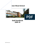 Pinner Wood Staff Handbook 2009-10