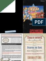 Tin Star Manual SNES
