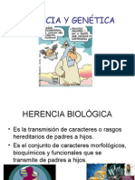 Herencia y Gentica