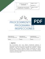Procedimiento Programa de Inspecciones