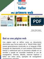 Taller Mi Primera Web