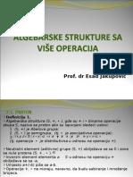 Poglavlje 7 -Algebarske Strukture Sa Više Operacija