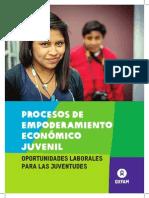 Procesos de empoderamiento económico juvenil