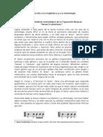Desarrollo y Análisis Semiótico de La Figuración Musical
