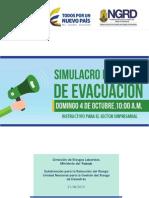 Simulacro Nacional de Evacuación