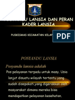 Power Point Lansia