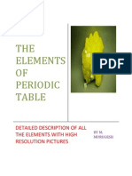 The Elements of Periodic Table