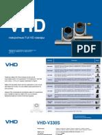 Поворотные камеры VHD