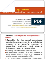 logical clocks in distributed systems
