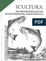 Acuicultura Cultivo de Truchas en Jaula--belisario Mantilla