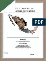 Proyecto Nacional de Desarrollo Integral y Sustentable
