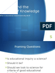 inquiry growthofknowledge