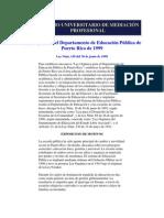 Colegio Universitario de MediaciÓn Profesional Ley Orgánica