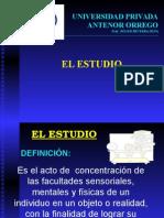 El estudio