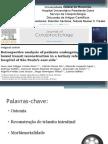 Apresentação Artigo Coloprocto - Reconstrução de Trânsito Intestinal pós Ostomia Hartmann