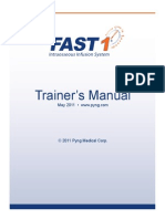 PM 002j FAST1 Trainers Manual