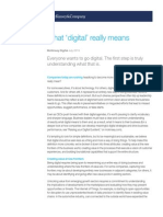 What Digital Really Means