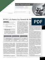 El Tlc y la Nueva ley General de Aduanas (Parte III)