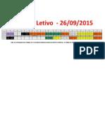 Horário 2015 - Sábado Letivo 26.09.2015