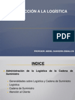 Introduccion a La Logistica PPT 1
