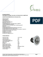 Reporte Fotometrico Bala NIX-L PLATA MAX 20W