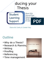 Year 4 Undergraduate Thesis Presentation