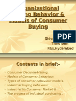 Models of CB & Industrial Buying Behaviour