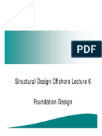 Structural Design Offshore