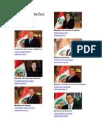 Ministerios Del Perú del 2015