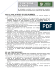 Reglamento Interno Pre Policial