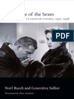 Battle of the Sexes in French Cinema 1930 1956 by Noel Burch, Geneviève Sellier