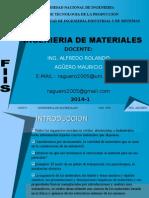 Ingeniera de Materiales 2014-1