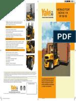 Especificação GP135 - 155VX