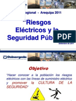 Riesgos Electricos y La Seguridad Publica