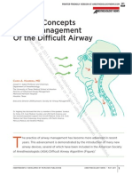 2011 Management of Difficult Airways